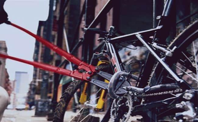 antirobo de bicicleta
