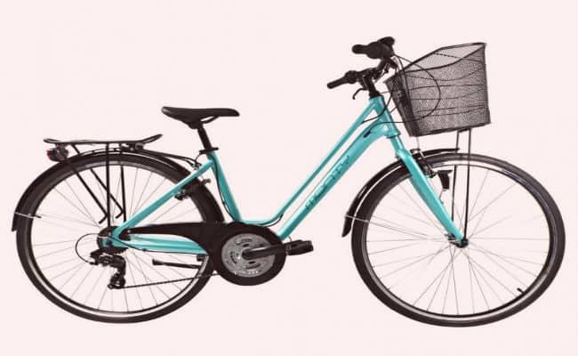 ejemplo de una bicicleta de mujer de Monty