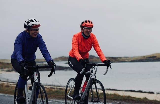 chaqueta de ciclismo térmica