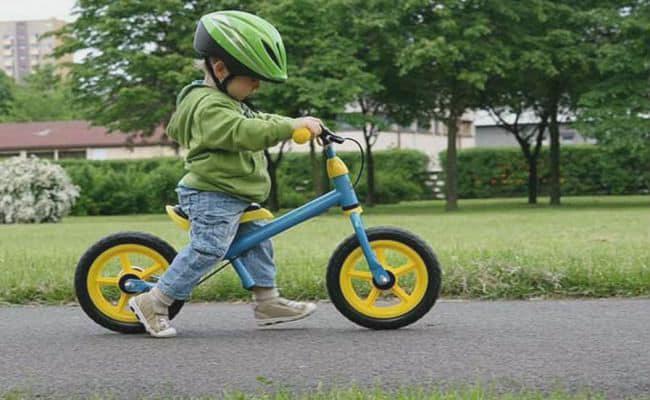 bicicleta sin pedales para niños de 5 o 6 años