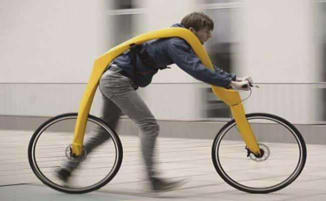bicicleta sin pedales moderna