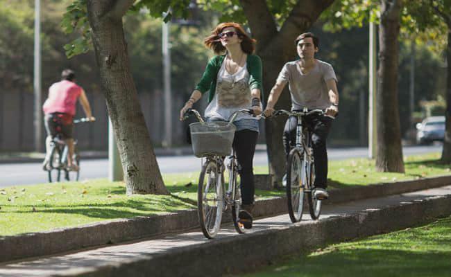 bicicleta urbana para mujer y ligera