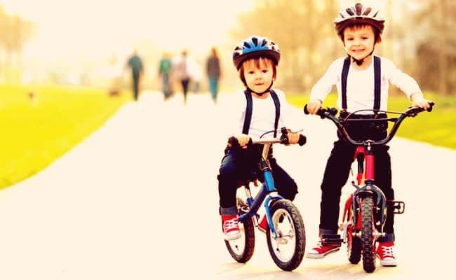 cascos de bicicletas para niños y niñas