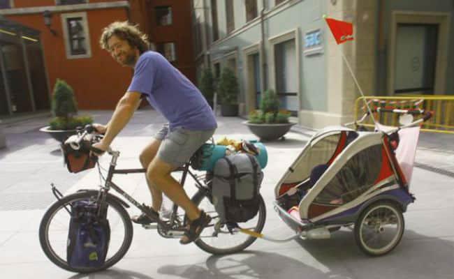 carro para bicicleta