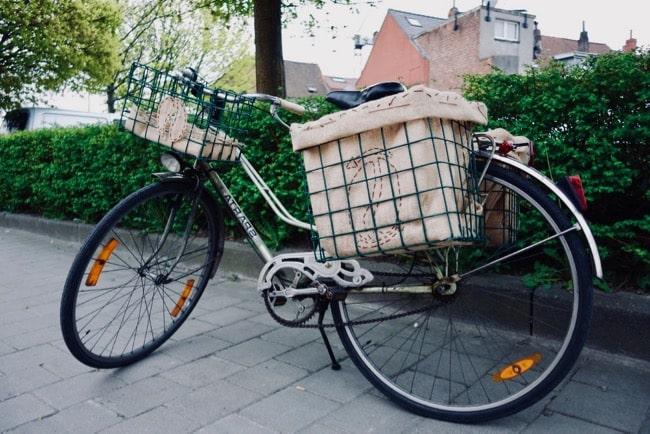 amazon cesta bicicleta
