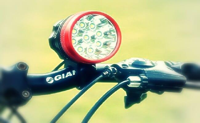 luces para bicicletas salidas nocturnas