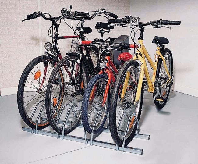 soporte bicicleta suelo
