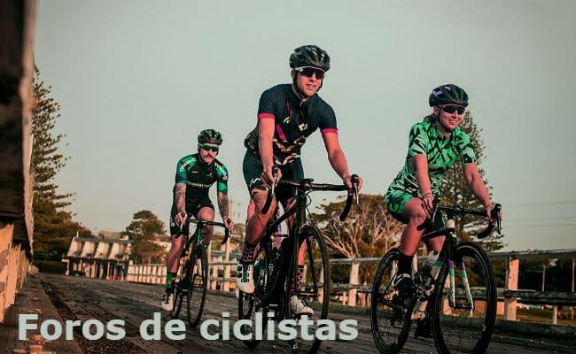 todos los foros de ciclistas