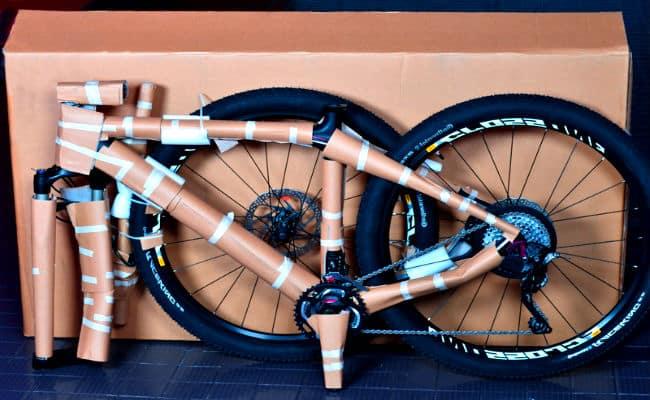 enviar bicicleta por avión